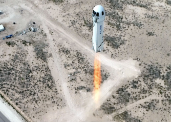 H μεγάλη μέρα της Blue Origin και του Τζεφ Μπέζος