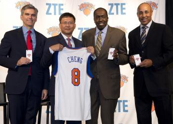 ZTE, NBA και κινητά