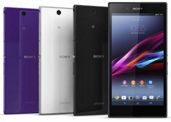 Sony Xperia Z Ultra στις 6,4 ίνστες