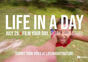 YouTube: πρόσκληση για συμμετοχές στο «Life In A Day 2020» στις 25 Ιουλίου