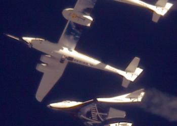 Virgin Galactic: πρώτη επιτυχημένη πτήση και προσγείωση