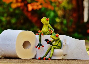 Στην τουαλέτα με αναγνώριση προσώπου