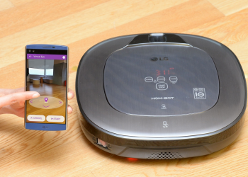 LG CordZero: ηλεκτρική σκούπα με augmented reality