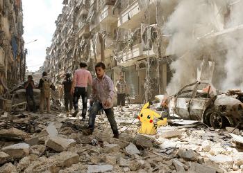 Τα Pokemons και ο πόλεμος στη Συρία