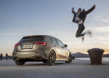 Στη νέα Mercedes-Benz A Class η τεχνολογία παίζει πρωταγωνιστικό ρόλο