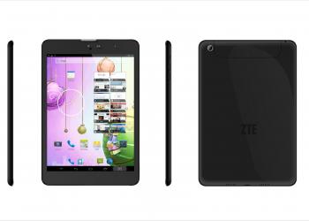 Τρία νέα, τετραπύρηνα tablets από τη ZTE
