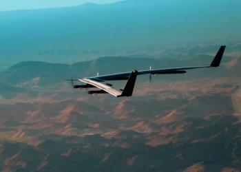Στον αέρα το ηλιακό drone της Facebook