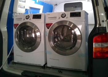 Bαν - κινητό πλυντήριο για τις βασικές ανάγκες των αστέγων της Αθήνας
