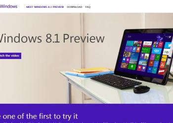Διαθέσιμη η Preview έκδοση των Windows 8.1