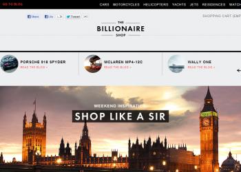 Ε-shop για δισεκατομμυριούχους