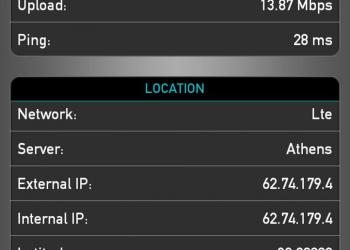 Ταχύτητες έως 91,6Mbps από τη Vodafone