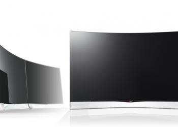 Ξεκινάει η διάθεση της πρώτης κυρτής OLED τηλεόρασης