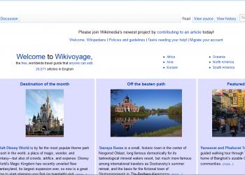 Wikivoyage: Ταξίδι με τη Wikipedia