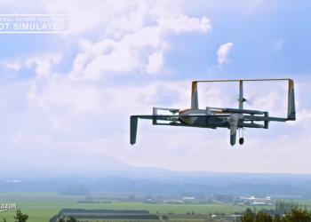 Amazon: παράδοση πακέτων έως 2,2 κιλά μέσω drone