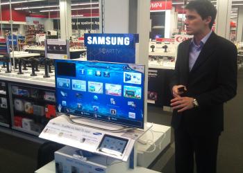 Οι νέες interactive TVs της Samsung στον Κωτσόβολο