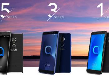 Τρεις νέες σειρές smartphones από την Alcatel