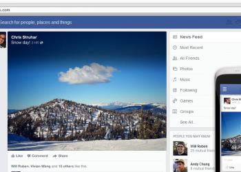 Facebook: έμφαση στη διαφήμιση