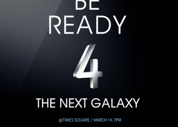 Και η Times Square στο παιχνίδι για το λανσάρισμα του Samsung Galaxy S IV