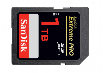 SanDisk: παρουσίασε κάρτα μνήμης SD χωρητικότητας 1ΤΒ