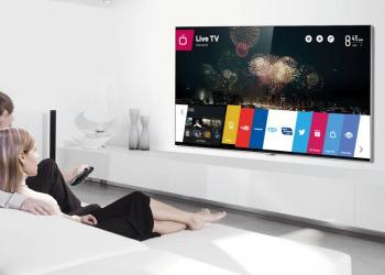Ένα εκατομμύριο LG Smart TVs με webOS