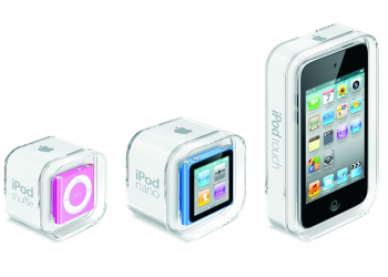 Νέα iPod touch/nano/shuffle