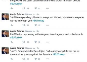 Τα σβησμένα tweets του Αλέξη Τσίπρα