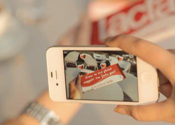 Mobile εφαρμογή 'Augmented Reality' για την Lacta από την OgilvyOne
