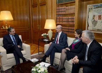 Επίσκεψη του CEO της Deutsche Telekom στον Πρωθυπουργό