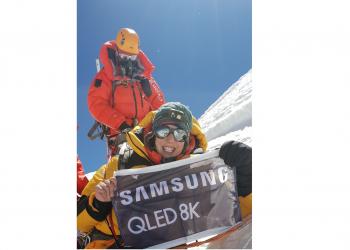 Συγχαρητήρια από τη Samsung Electronics Hellas στις δύο αλπινίστριες που κατέκτησαν το Everest