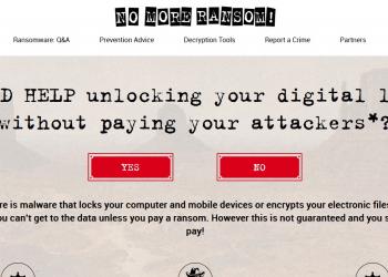 Μεγαλώνει η πρωτοβουλία No More Ransom