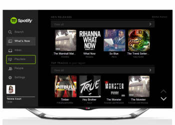 Spotify και στις Smart TVs της LG