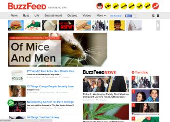 Οι περιπέτειες του Buzzfeed