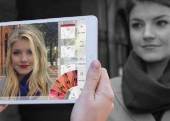 Καθρέφτης μακιγιάζ augmented reality