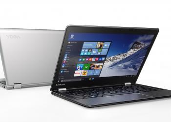 Lenovo: δύο νέα Yoga laptops και ένα 2 σε 1 tablet