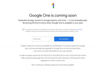 Αυτό είναι το νέο Google One