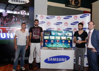 Olympiacos Smart TV App από τη Samsung