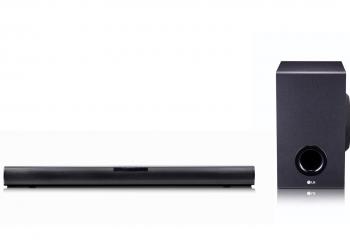 To νέο LG SJ2 sound bar στην ελληνική αγορά