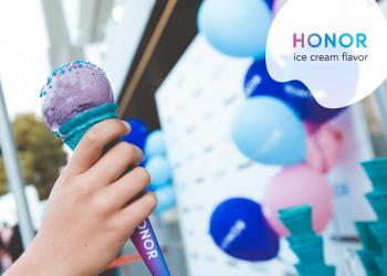 H Honor έφερε και το δικό της παγωτό