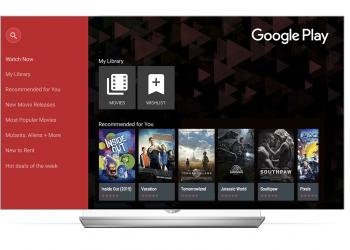 Ταινίες από το Google Play στις τηλεοράσεις της LG