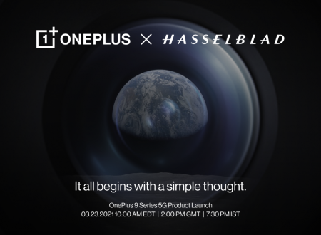 OnePlus: ξεκίνημα της συνεργασίας με Hasselblad στις 23 Μαρτίου
