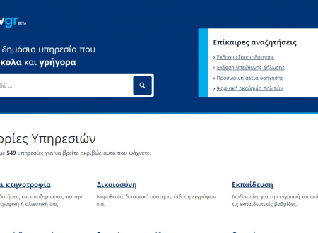 Υπηρεσίες για άδειες οδήγησης μέσω του gov.gr σε περισσότερες περιφέρειες